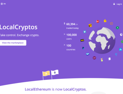 Buy or Sell bitcoins with any payment option you have! through Localcryptos