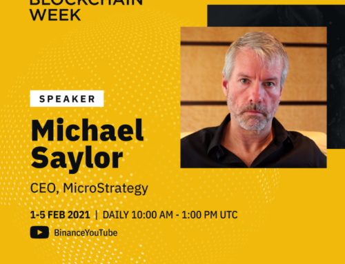 On Friday, February 5, @michael_saylor will be speaking in a fireside chat at #Binance Blockchain Week!