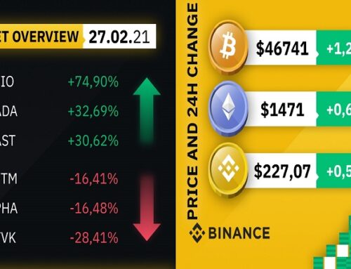 Market overview by #Binance 27-02-2021